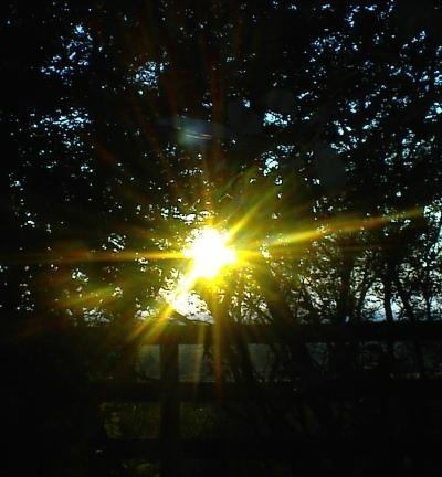 Autumnal Equinox Sunset